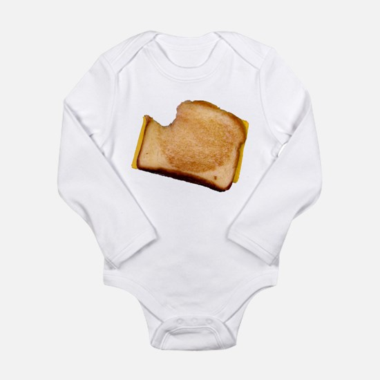 Plain Grilled Cheese Sandwich Onesie Romper Suit