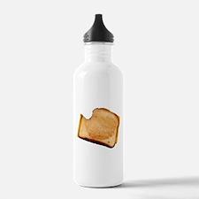 Plain Grilled Cheese Sandwich Sports Water Bottle