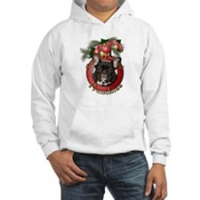 Christmas - Deck the Halls - Frenchies Hoodie