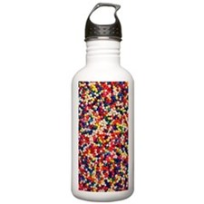 Candy Sprinkles Water Bottle