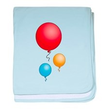 Party Balloons Infant Blanket