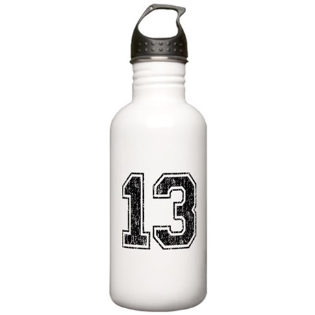 Retro 13 Number Stainless Water Bottle 1.0L