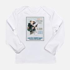 Gee I Wish I Were A Man Long Sleeve Infant T-Shirt