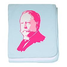 Pink President Taft Infant Blanket