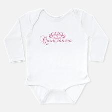 Quinceanera Long Sleeve Infant Bodysuit