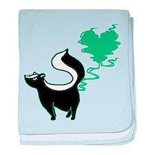 Stinky Love Skunk Infant Blanket