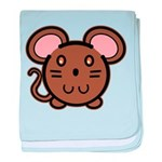 Brown Mousie Infant Blanket