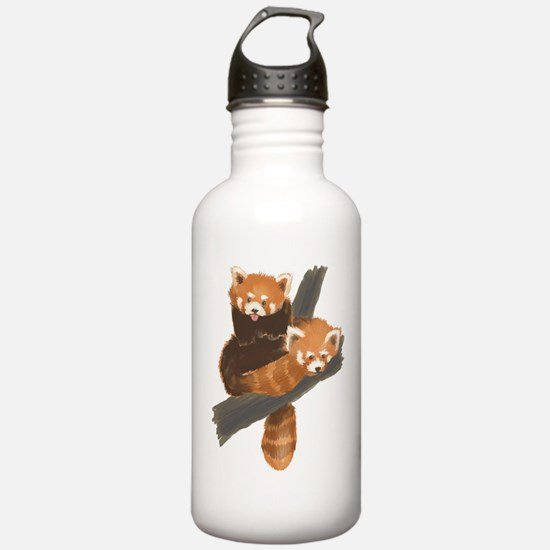 Red Pandas Water Bottle