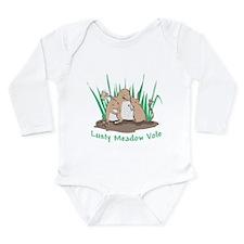 Lusty Meadow Vole Long Sleeve Infant Bodysuit