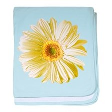 Pop Art White Daisy Infant Blanket