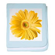 Pop Art Yellow Daisy Infant Blanket