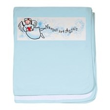 Nurses Are Angels Infant Blanket