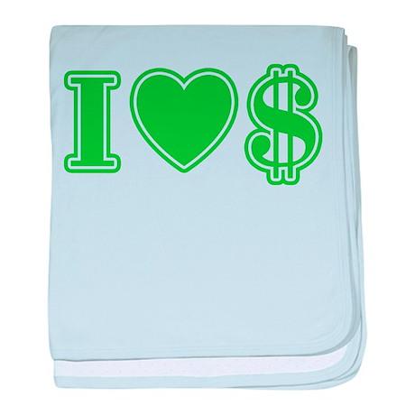 I Love Money Infant Blanket