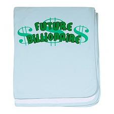 Future Billionaire Infant Blanket