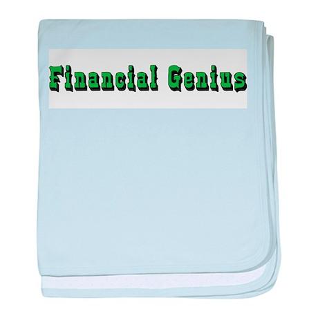 Financial Genius Infant Blanket