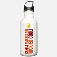 Candle Makers Are Wick-ed Coo Water Bottle