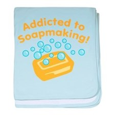 Addicted to Soap Craft Infant Blanket