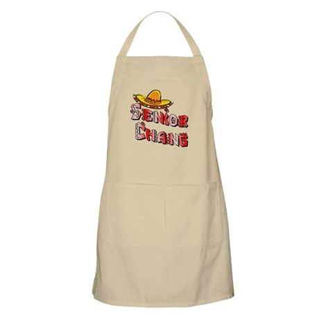Senior Chang Greendale Community College Apron