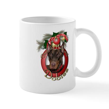 Christmas - Deck the Halls - Dobies Mug