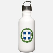 Greek Coat of Arms Sports Water Bottle