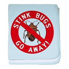 Stink Bugs Go Away Infant Blanket