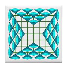 Eclectic Flower 111 Tile Coaster