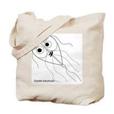 Cute Microbiology Tote Bag