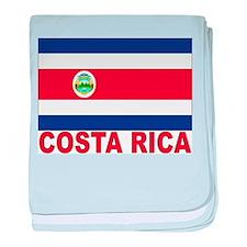 Costa Rica Flag Infant Blanket