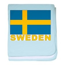 Sweden Flag Infant Blanket