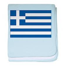 Greek Flag baby blanket