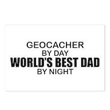 World's Greatest Dad - Geocacher Postcards (Packag
