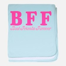 Best Friends Forever BFF Infant Blanket