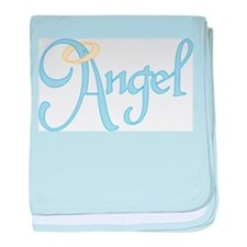 Angel Text Infant Blanket