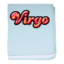Retro Zodiac Virgo Infant Blanket