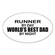 World's Greatest Dad - Runner Decal