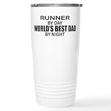 World's Greatest Dad - Runner Travel Mug