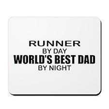 World's Greatest Dad - Runner Mousepad