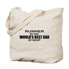 World's Greatest Dad - Runner Tote Bag