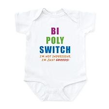 Bi Poly Switch Not Indecisive Infant Bodysuit