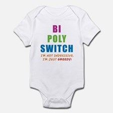 Bi Poly Switch Not Indecisive Infant Bodysuit