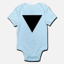 Black Triangle Lesbian Pride Infant Bodysuit