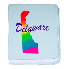 Gay Pride Rainbow Delaware Infant Blanket