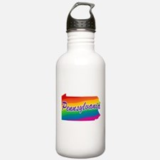 Gay Pride Rainbow Pennsylvani Sports Water Bottle