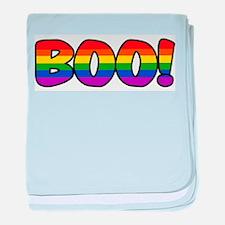 Halloween Rainbow BOO Infant Blanket