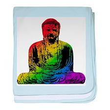 Rainbow Buddha Infant Blanket