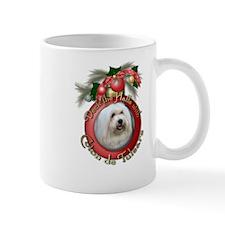 Christmas - Deck the Halls - Coton de Tulears Mug