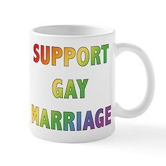 Support Gay Marriage Mug