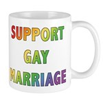 Support Gay Marriage Mug