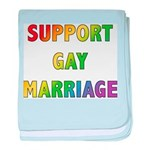 Support Gay Marriage Infant Blanket