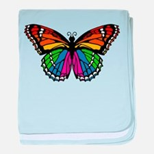 Rainbow Butterfly Infant Blanket
